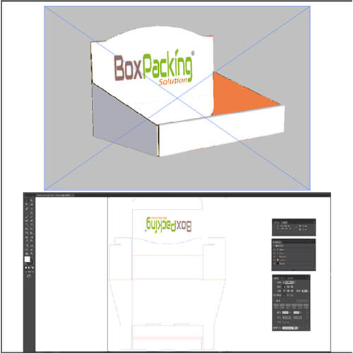 display box for nutrition supplement