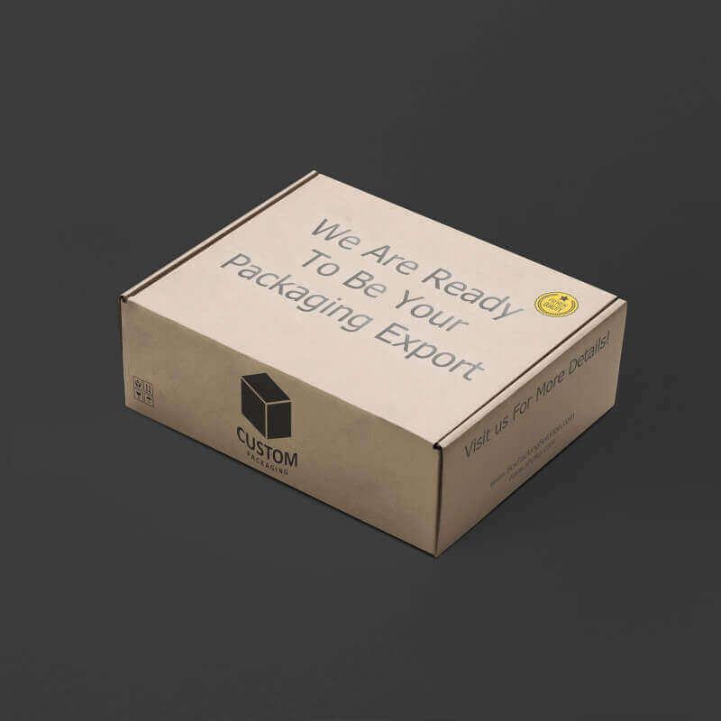 foldable mailer box mock up