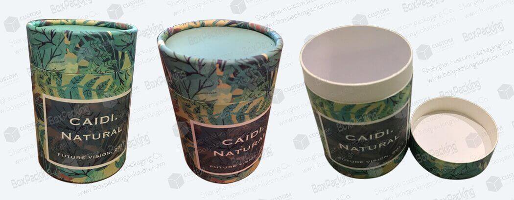 large diameter cardboard tubes for tea