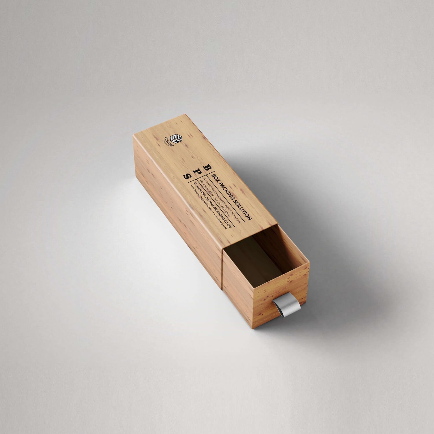 wooden color printed cardboard drawer boxes