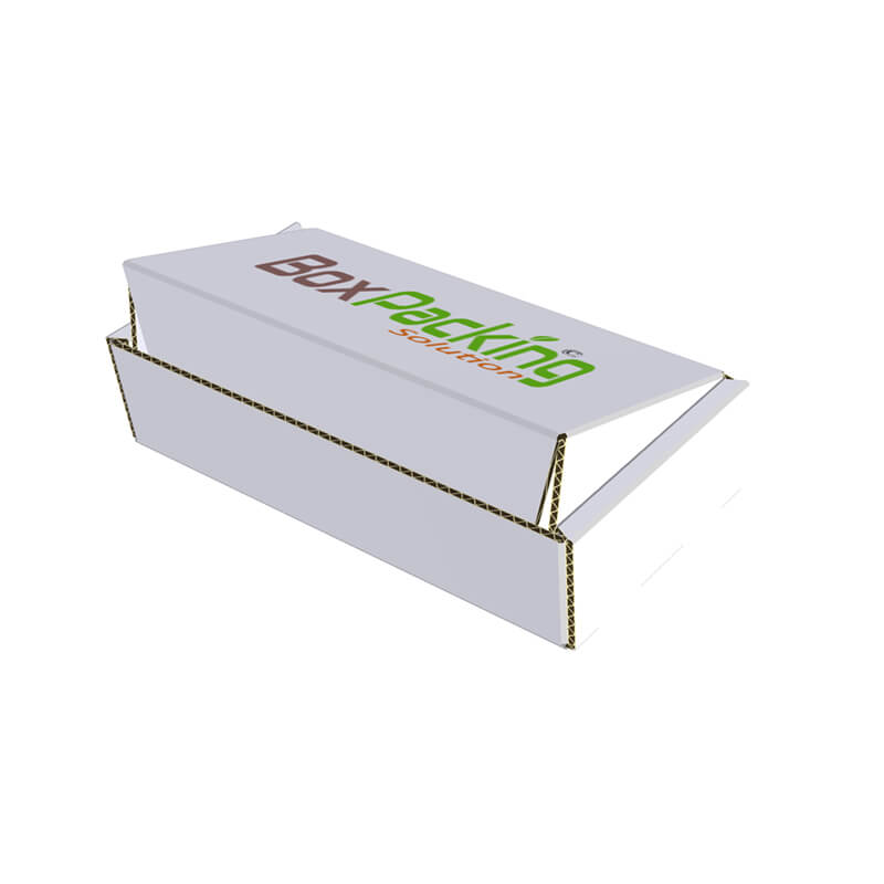 3D model created for cardboard mailer box
