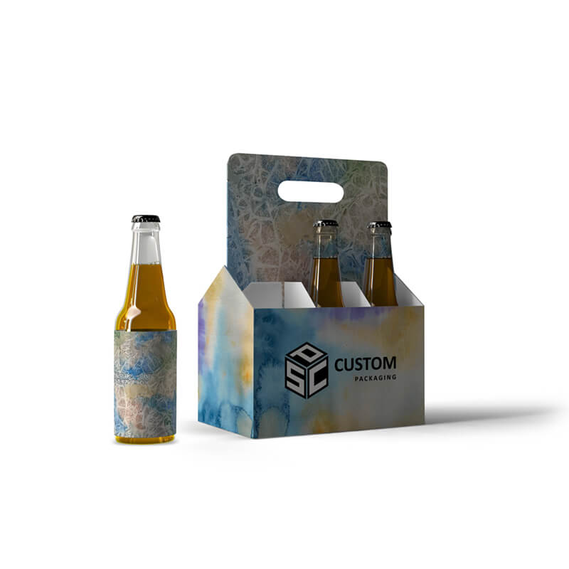 Beer Bottle Carrier Gable Top