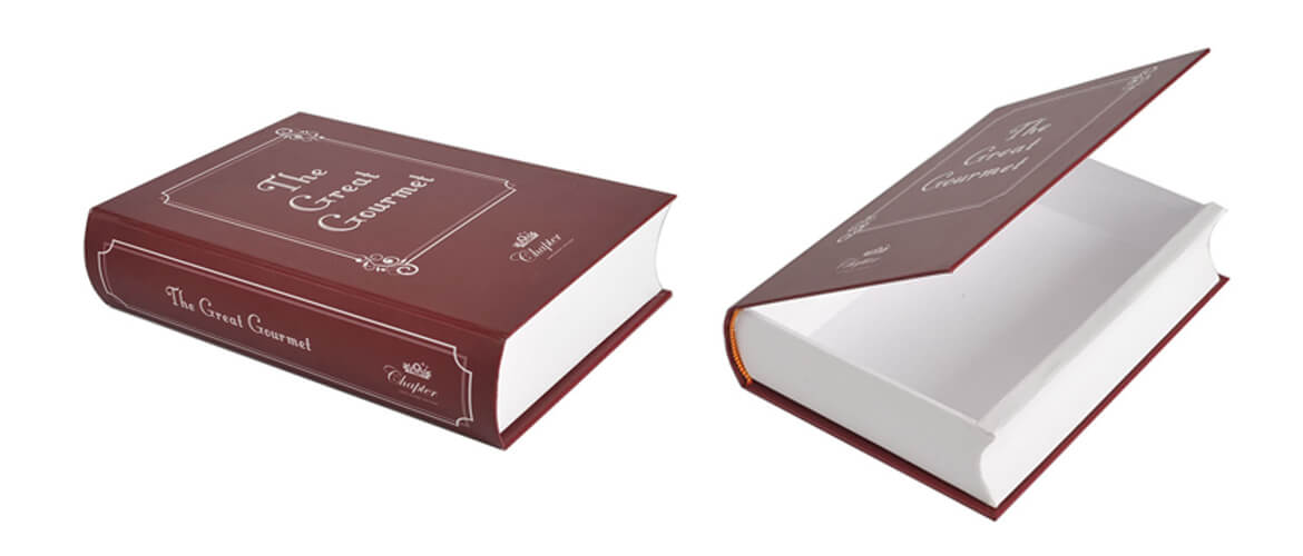 Book Shape Gift Box For Retail Products