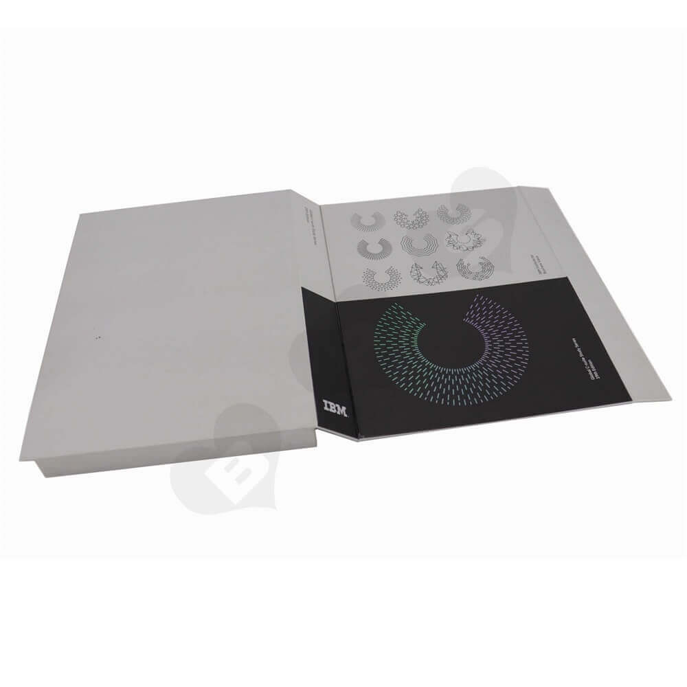 Business Presentation Packaging Boxes side view four