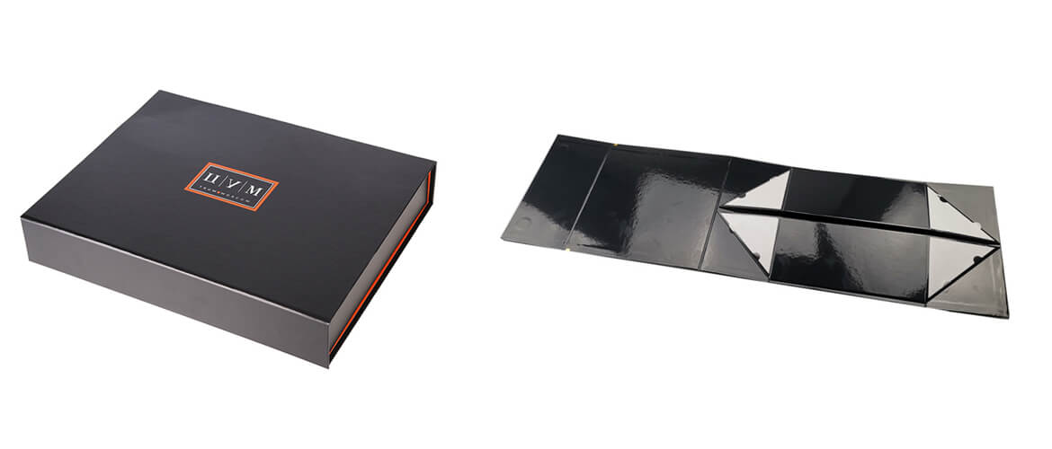 Business presentation box collapsible style