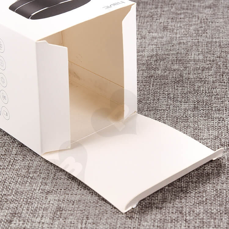 CMYK Printing Cardboard Packing Box For Wireless Speakers side view four