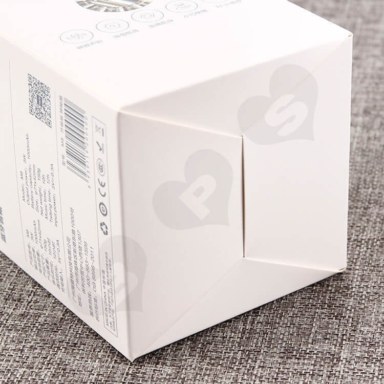 CMYK Printing Cardboard Packing Box For Wireless Speakers side view two