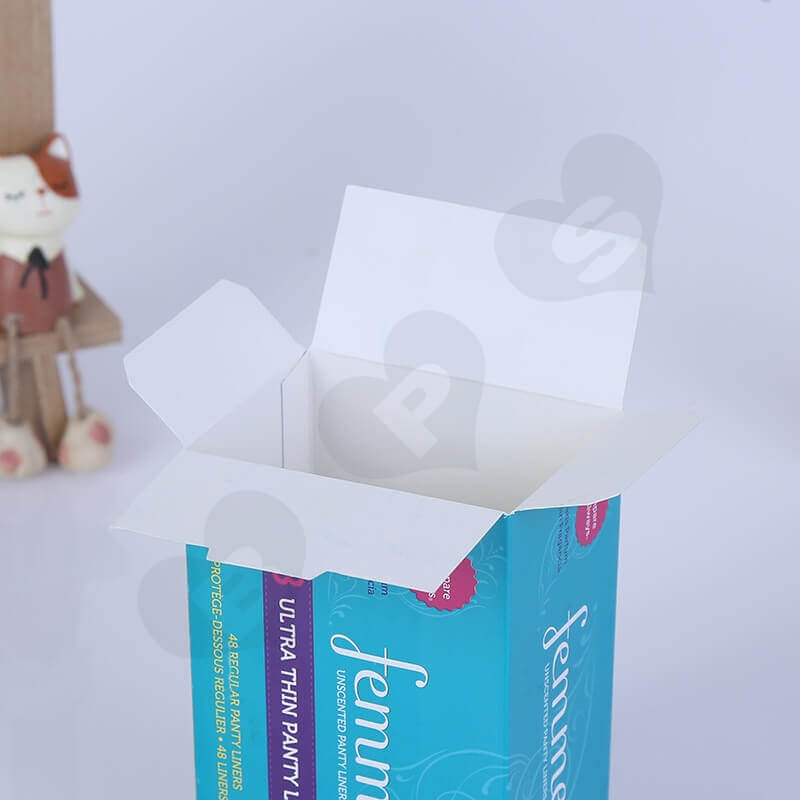 Cardboard Packing Box For Sanitary Napkins side view six