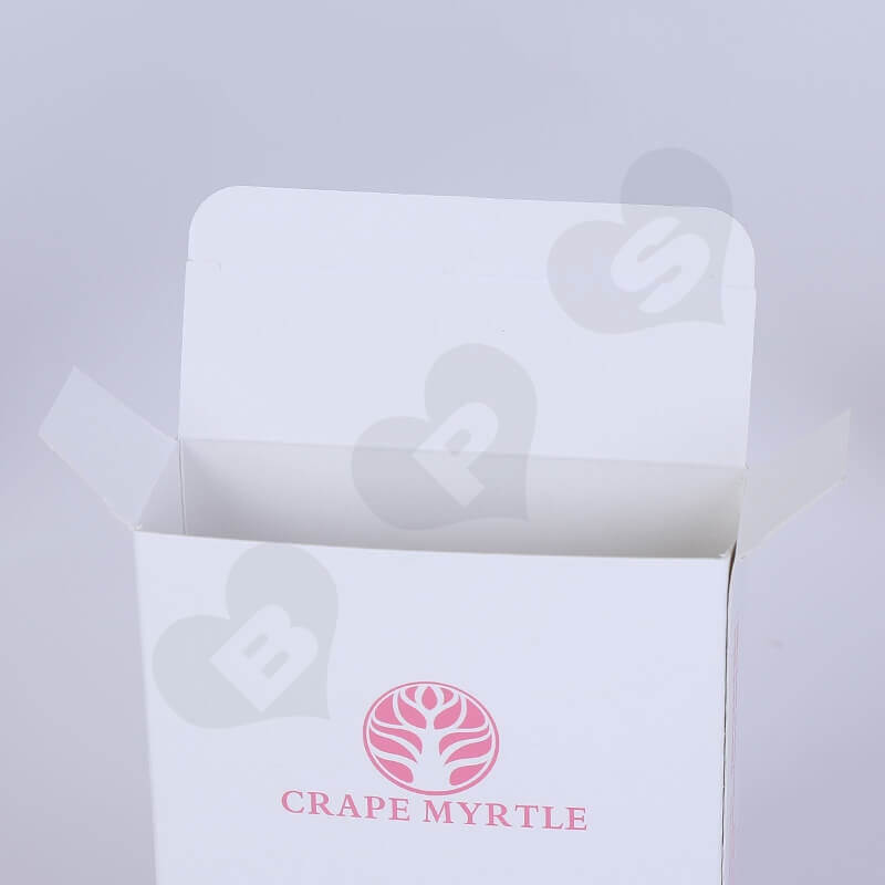 Cardboard Printed Mask Packaging Box side view four