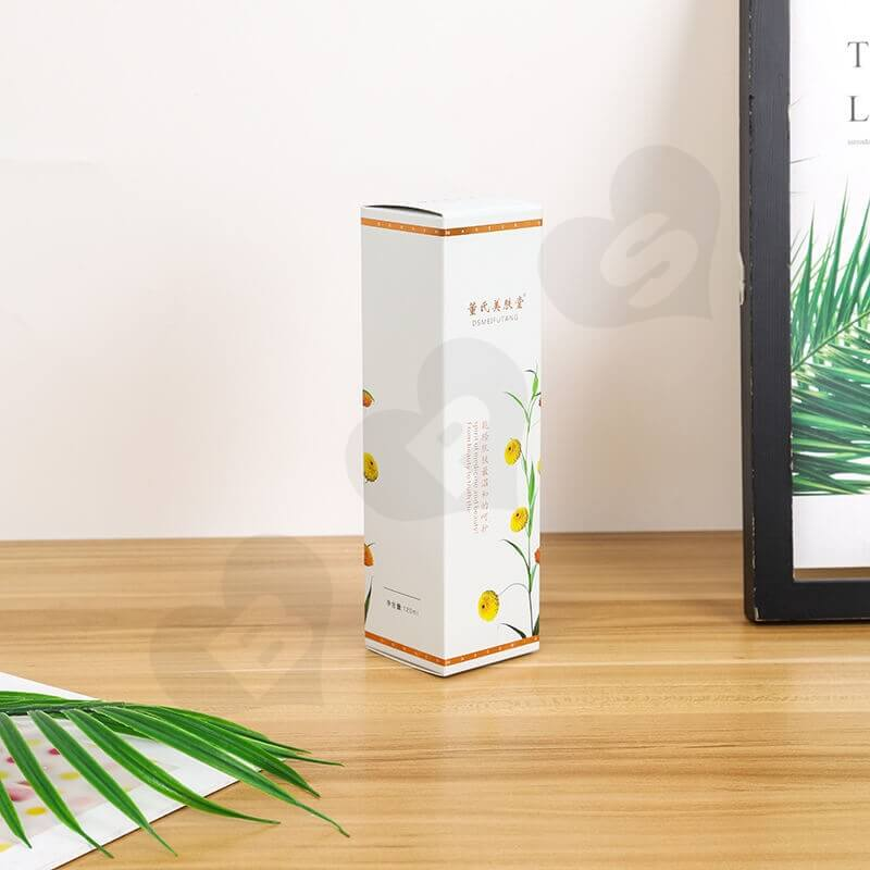 Chinese Wholesale Cardboard Cosmetic Paper Box side view five
