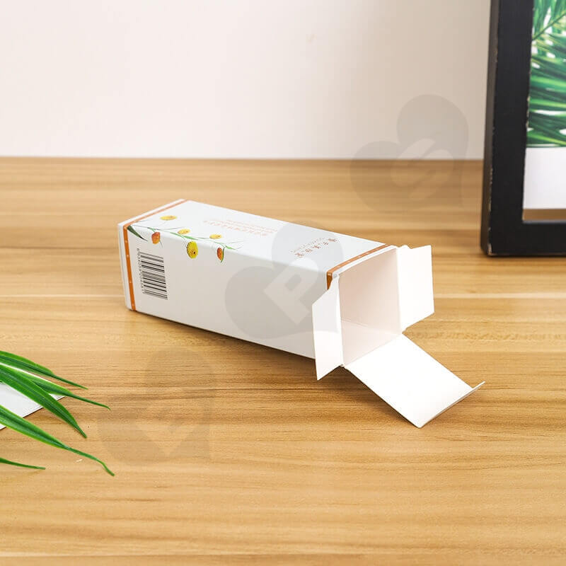 Chinese Wholesale Cardboard Cosmetic Paper Box side view four