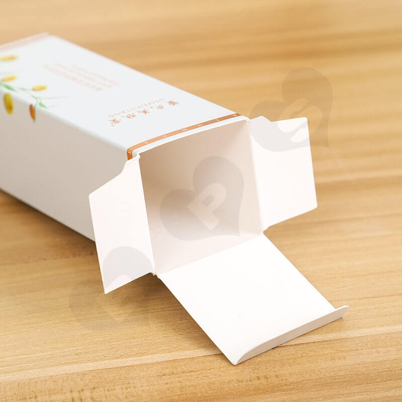 Chinese Wholesale Cardboard Cosmetic Paper Box side view two