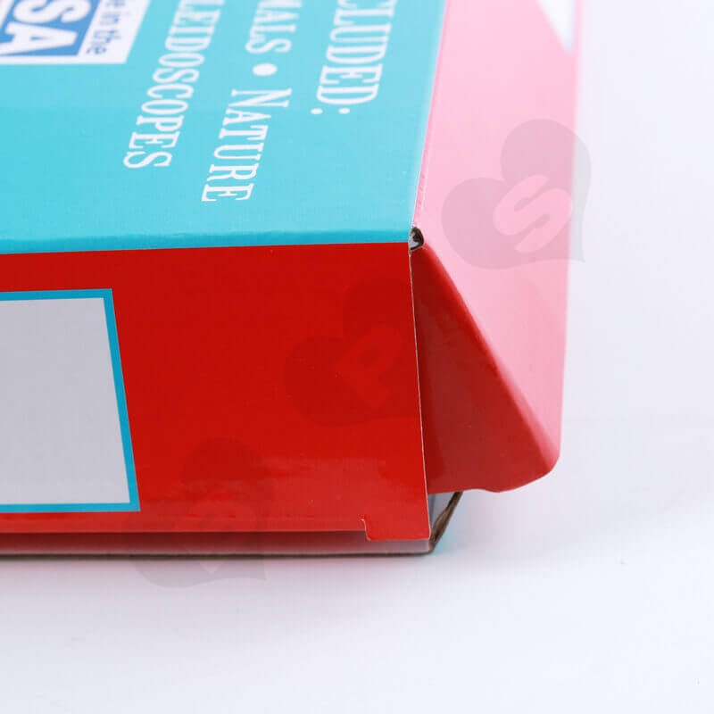 Color Printed Cardboard Box For Food side view four