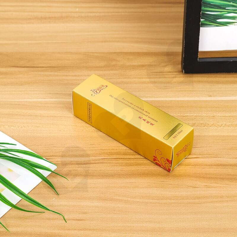 Color Printed Paperboard Box For Eyeliner side view four