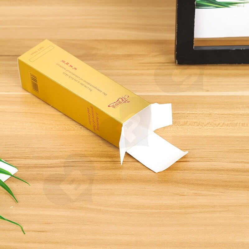 Color Printed Paperboard Box For Eyeliner side view two