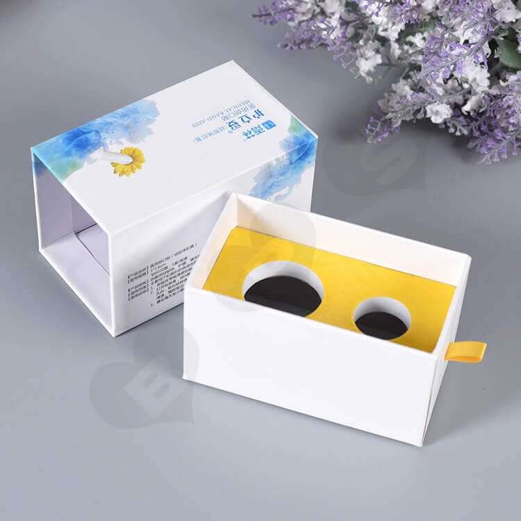 Color Printed Rigid Gift Box For Medical Band-Aid side view one