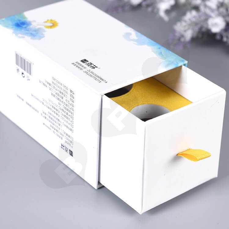 Color Printed Rigid Gift Box For Medical Band-Aid side view two