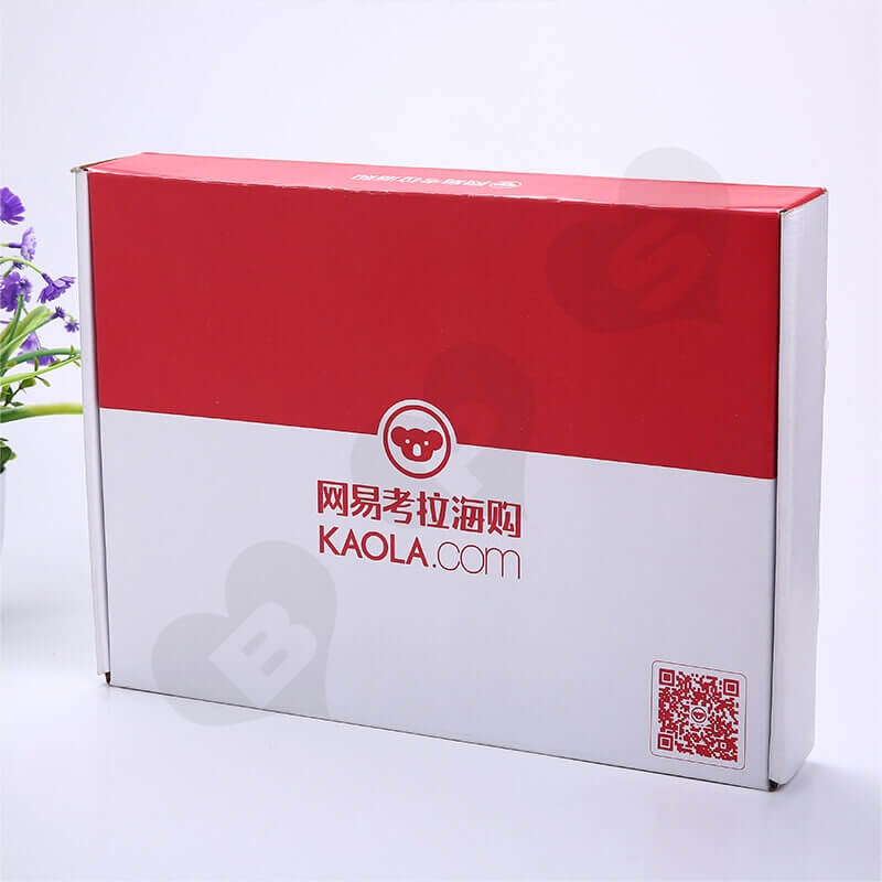 Color Printing Mailer Box For Online Shopping side view five