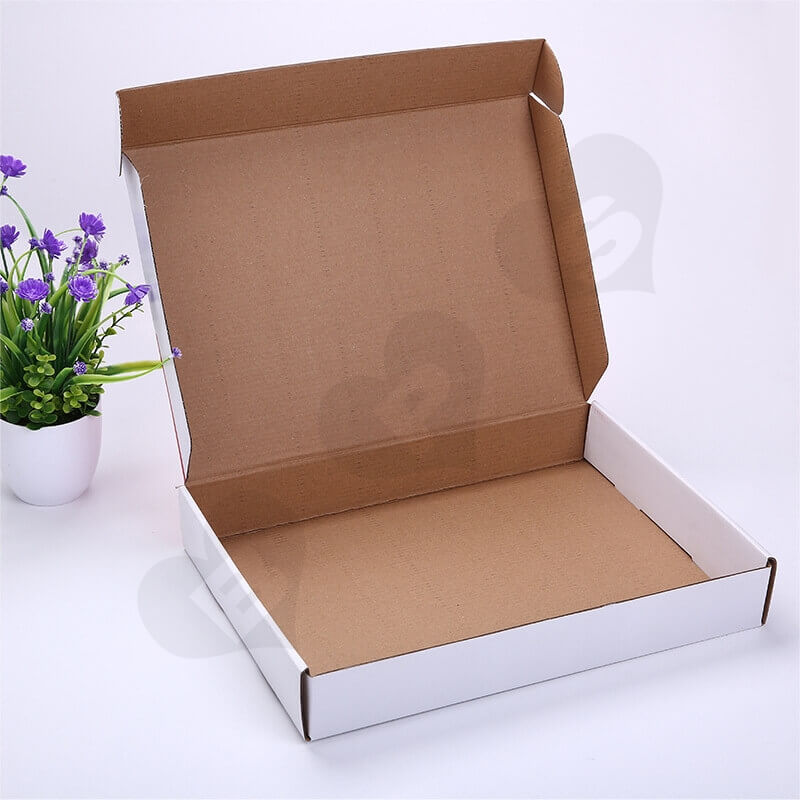 Color Printing Mailer Box For Online Shopping side view two