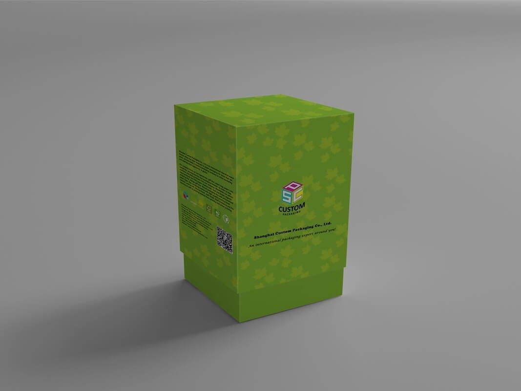 Cosmetics Packaging rigid box Mock-up