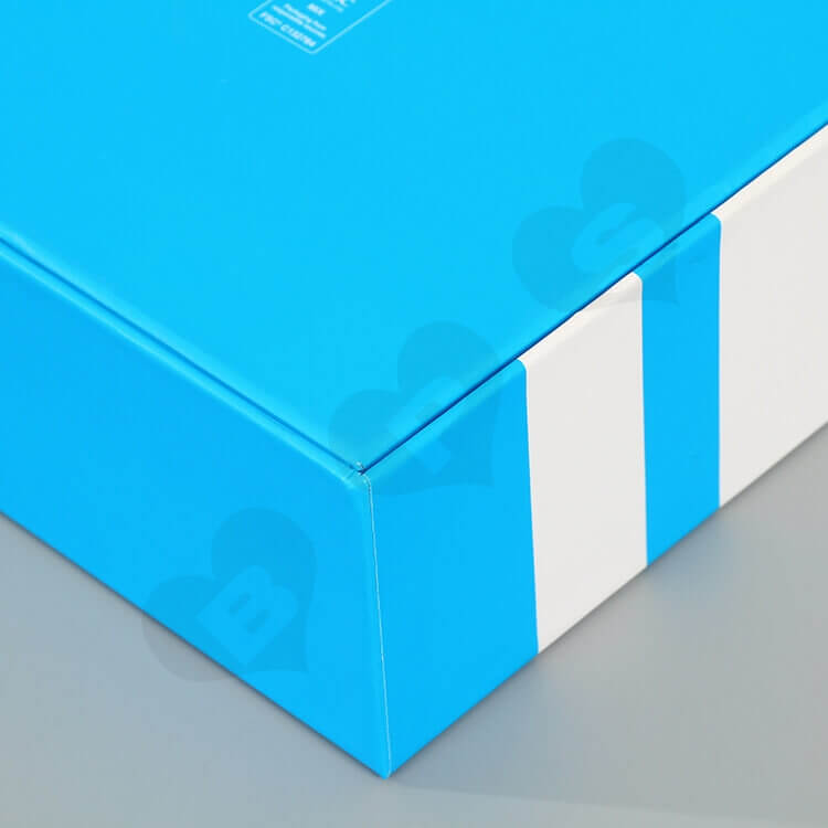 Cube Matte Color Rigid Box For Skin Care Product side view three