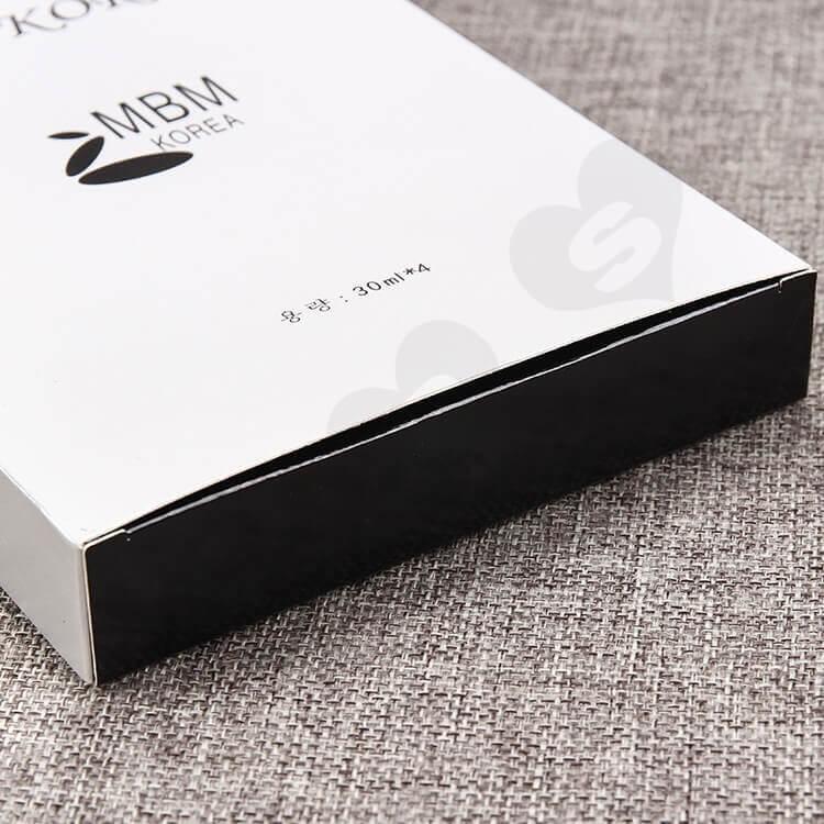 Custom Cardboard Box For Facial Mask side view four