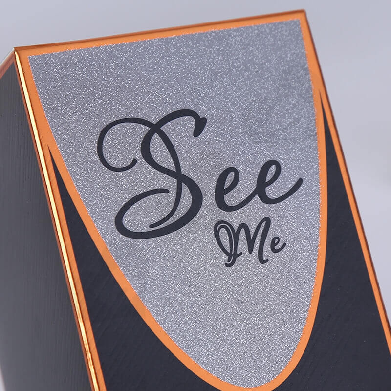 Custom Cardboard Gift Box For Fragrance side view three