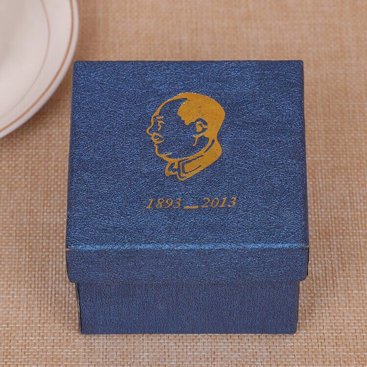 Custom Cardboard Gift Packaging Box For Watch side view five