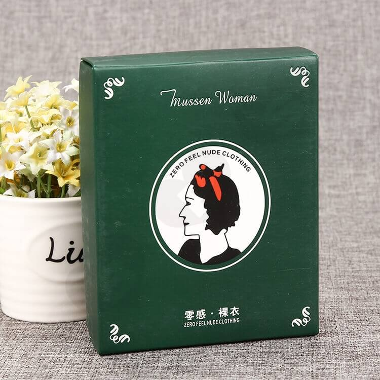 Custom Cardboard Packing Box For Woman Clothing side view five