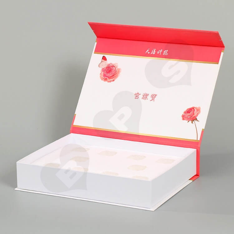 Custom Color Printing Gift Box For Health Products side view two