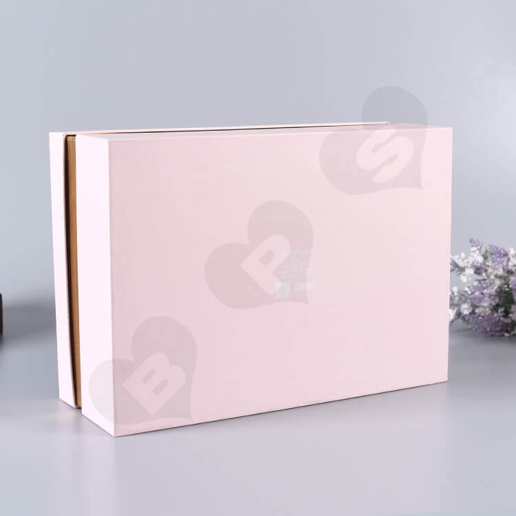 Custom Gift Box With Silk Insert For Wedding Candy side view two
