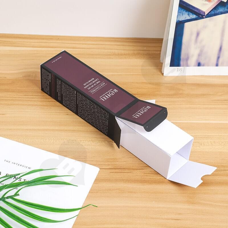 Custom Moist Lipstick Cardboard Box side view five