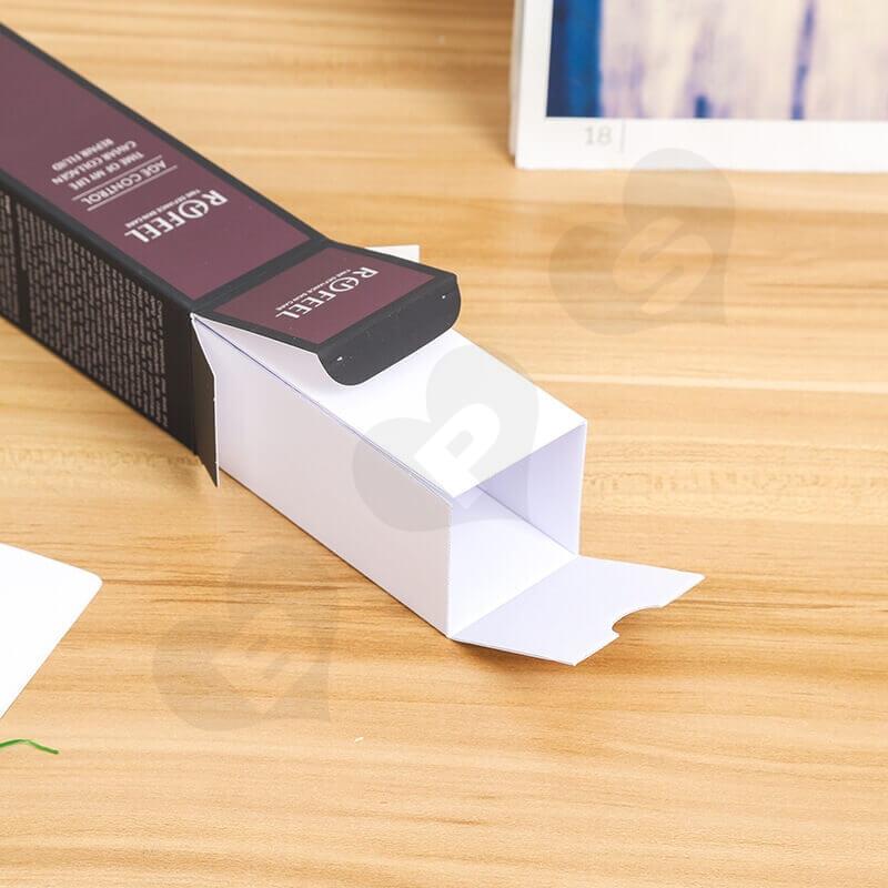 Custom Moist Lipstick Cardboard Box side view four