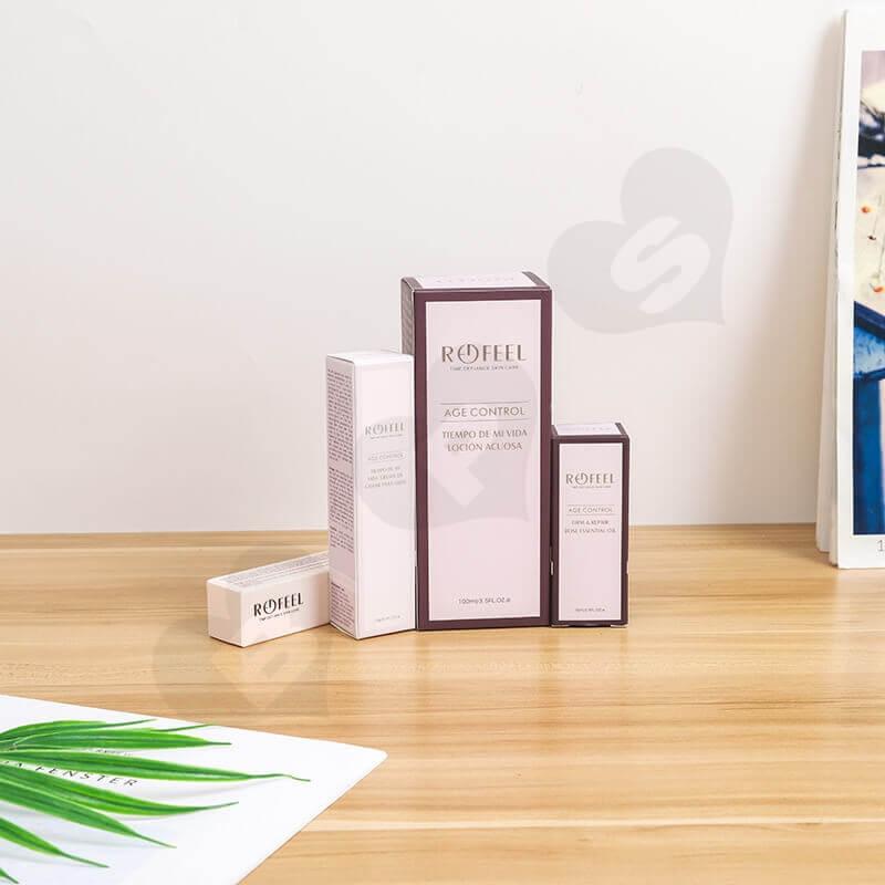 Custom Moist Lipstick Cardboard Box side view one