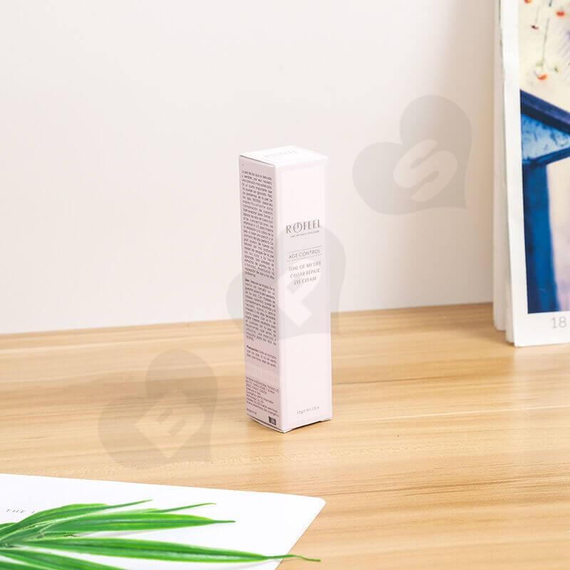 Custom Moist Lipstick Cardboard Box side view seven