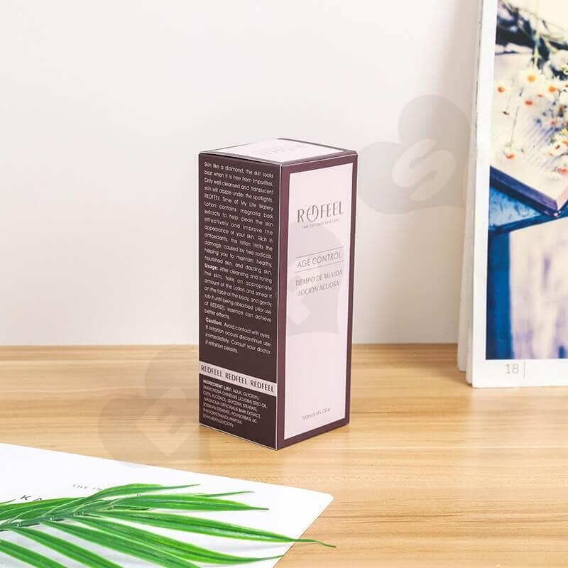 Custom Moist Lipstick Cardboard Box side view three