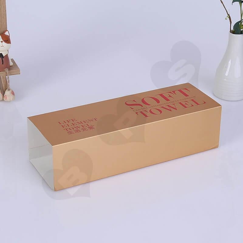 Custom Printed Box Sleeve side view one