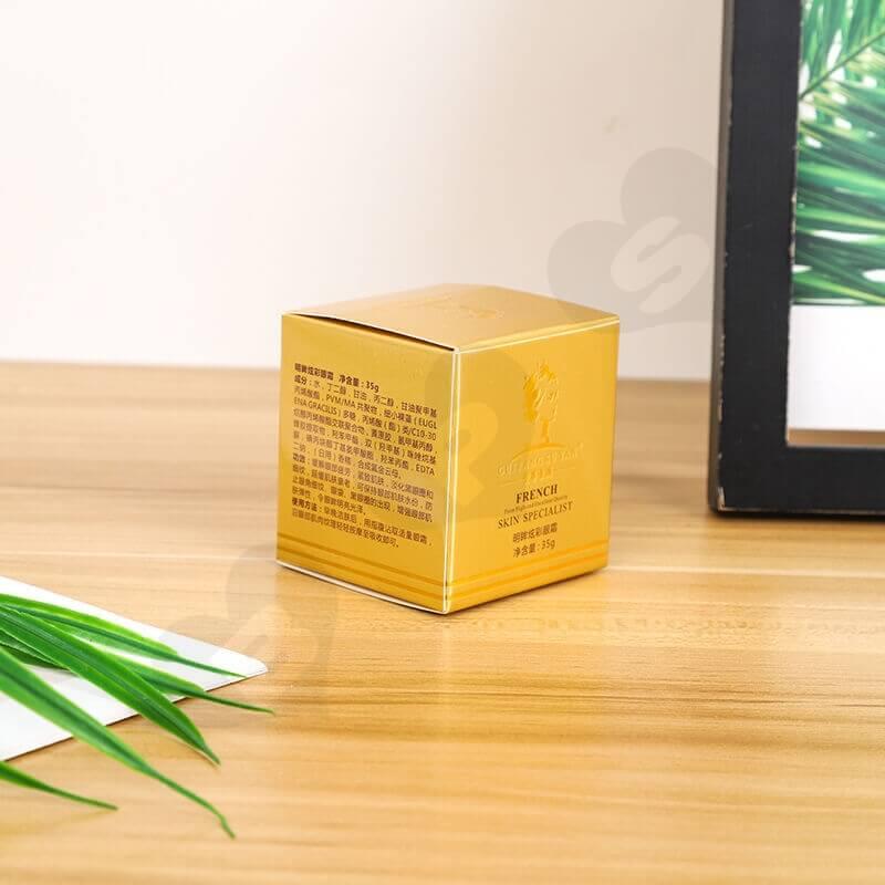 Custom Printed Cardboard Box For Skin Essence side view five