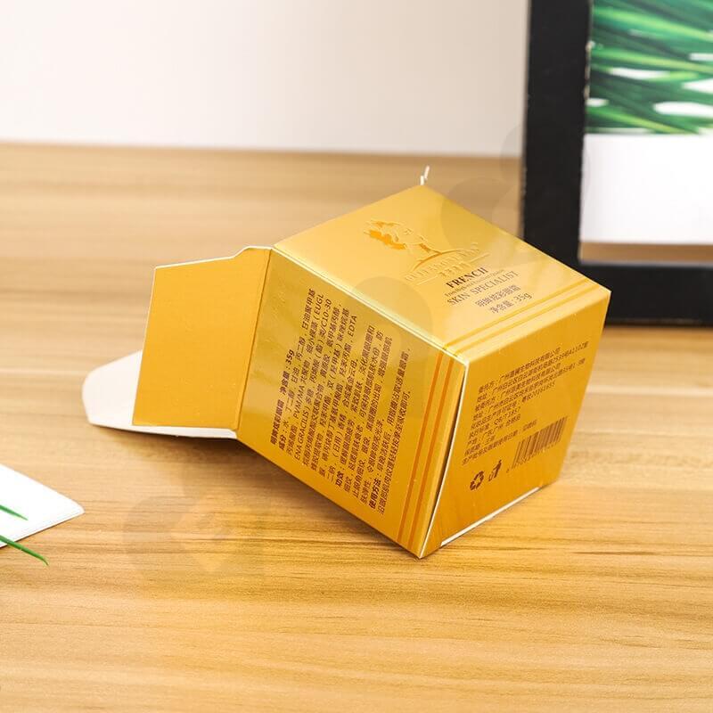 Custom Printed Cardboard Box For Skin Essence side view two