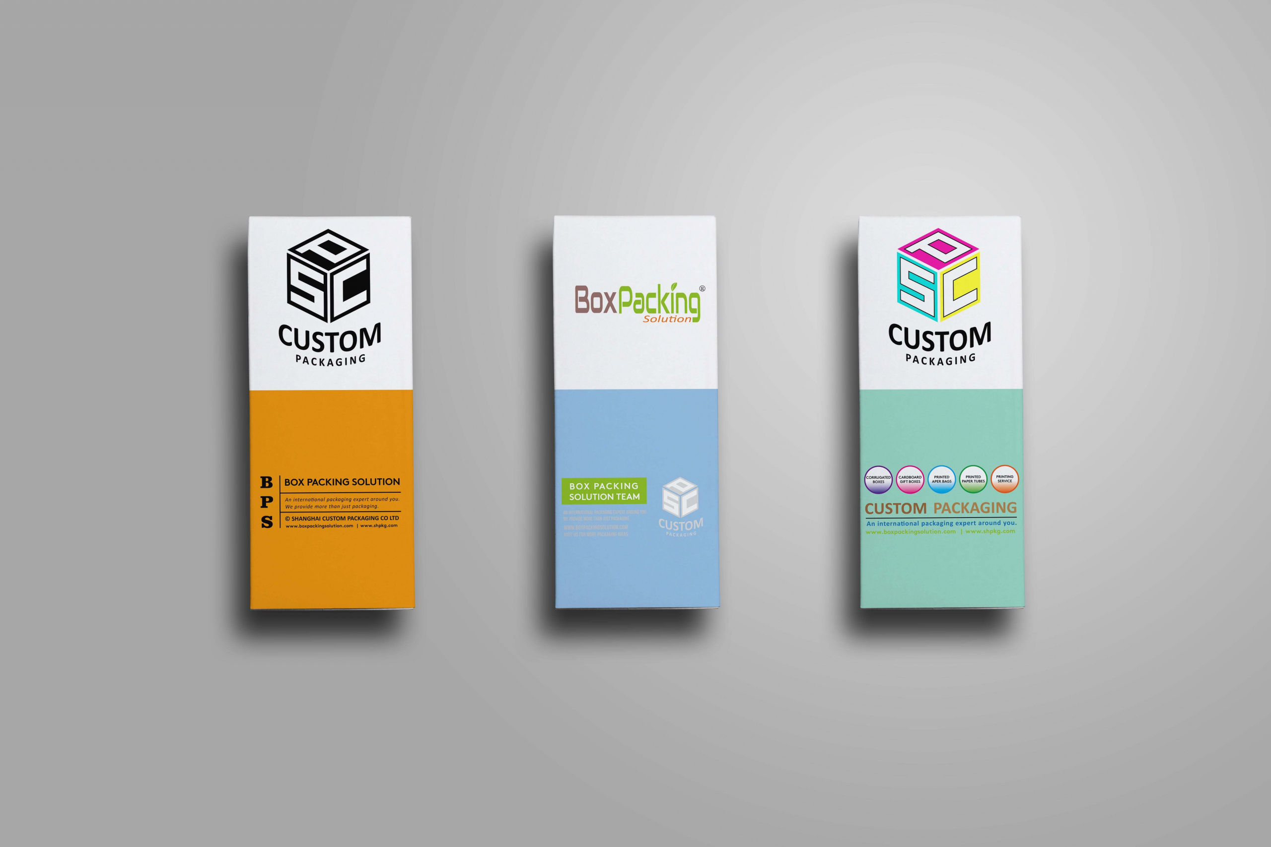 Custom Printed Cardboard Boxes Mock Up 5