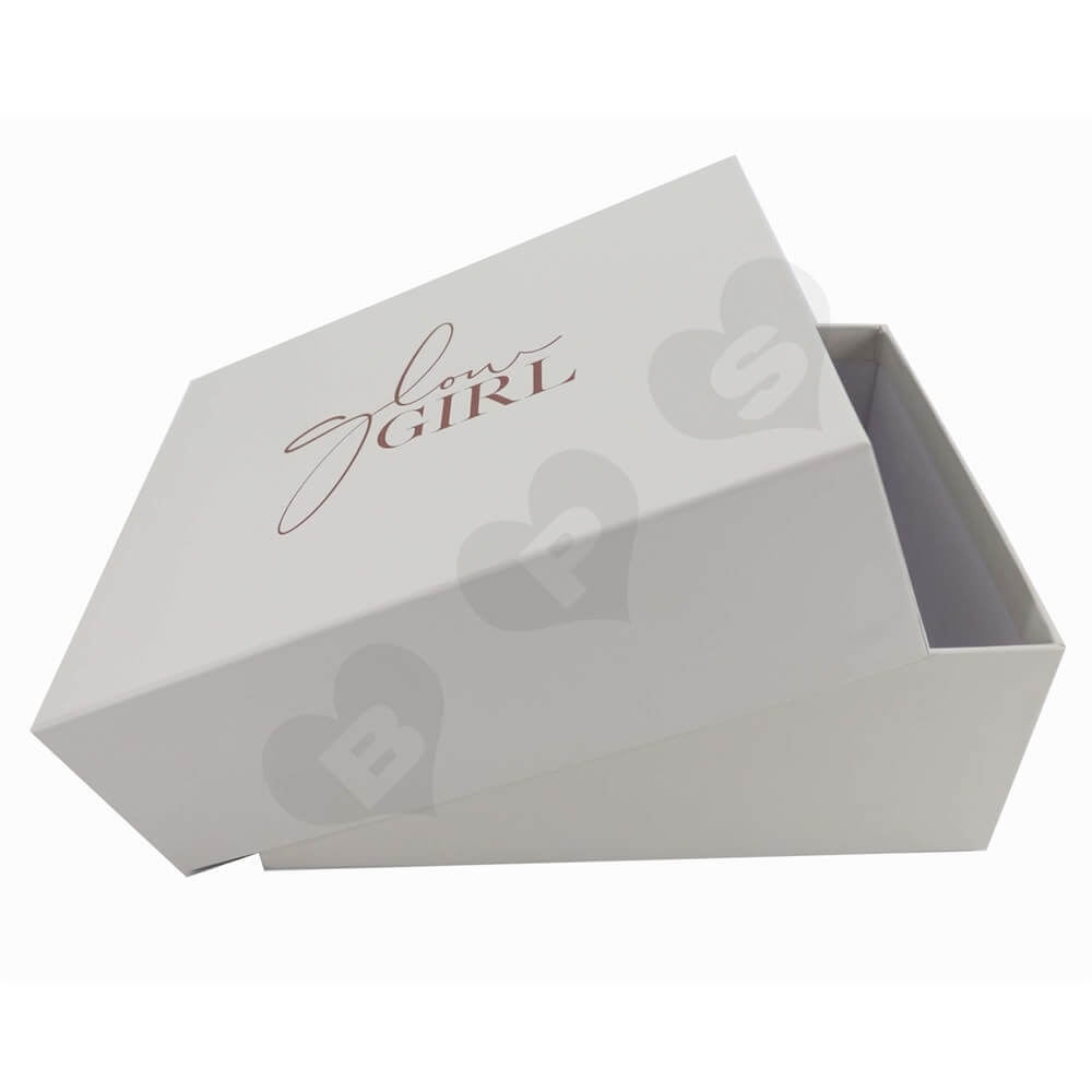 Custom Printed Garment Gift Boxes Side View One