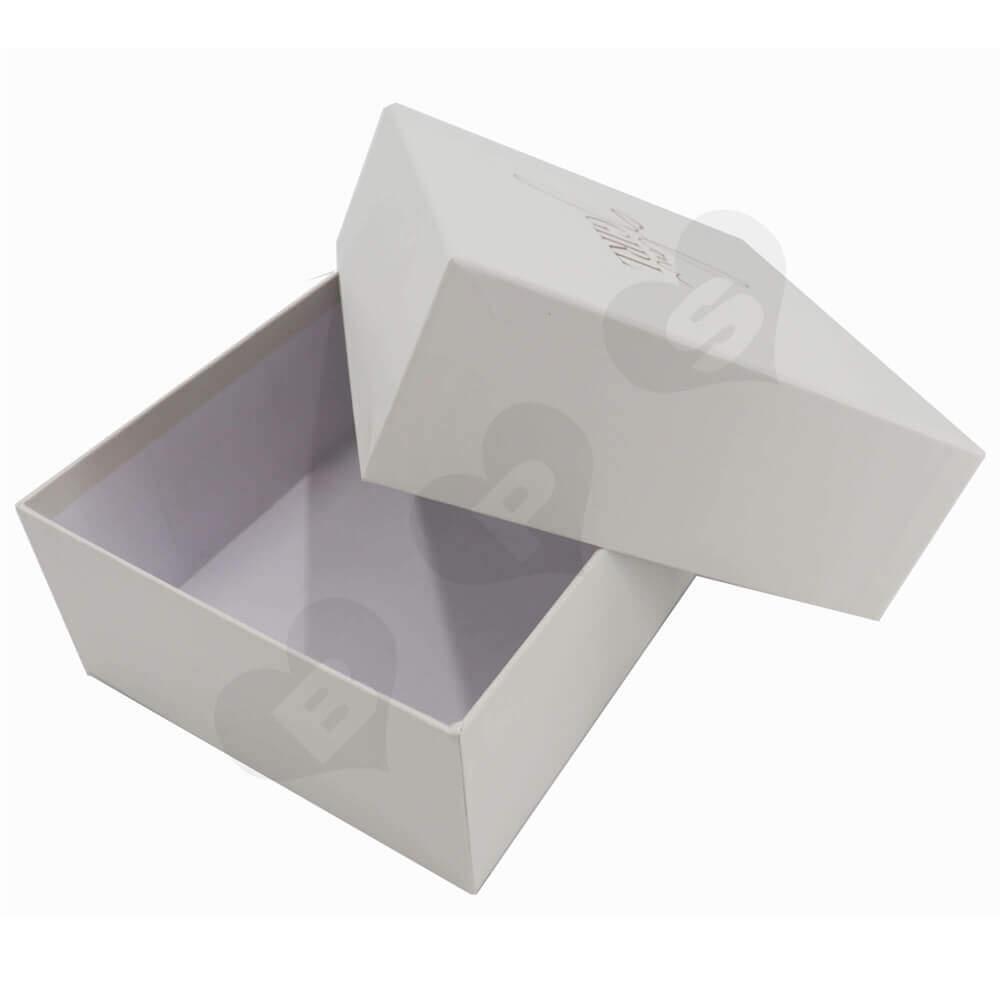 Custom Printed Garment Gift Boxes Side View Three
