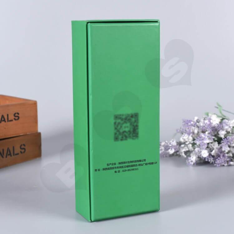 Custom Printed Gift Box For Fungicidal Liquid side view three