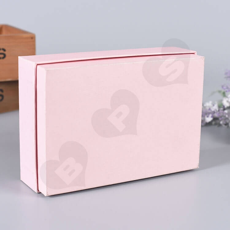 Custom Printed Gift Box For Wedding Perfume side view two