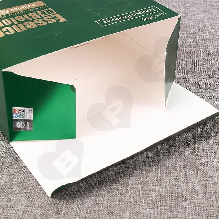 Custom Printed Packaging Box For Health Products side view five