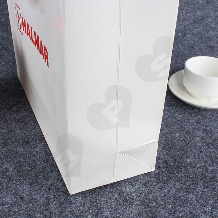 Custom Printed Paper Bag For Spare Parts side view three