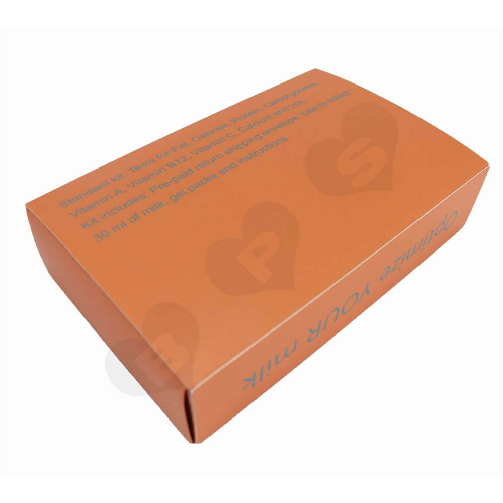 Custom Printed Paperboard Nutrition Packaging Drawer Box side view four