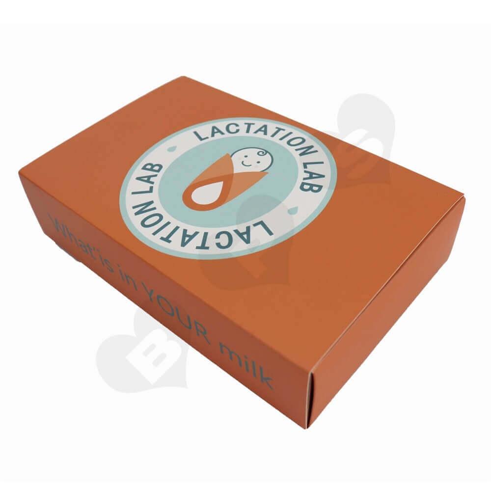 Custom Printed Paperboard Nutrition Packaging Drawer Box side view one