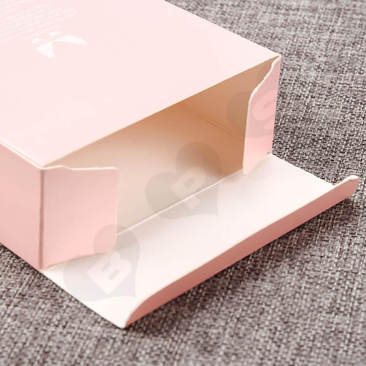 Custom Printed Perfume Box Pink Color side view three