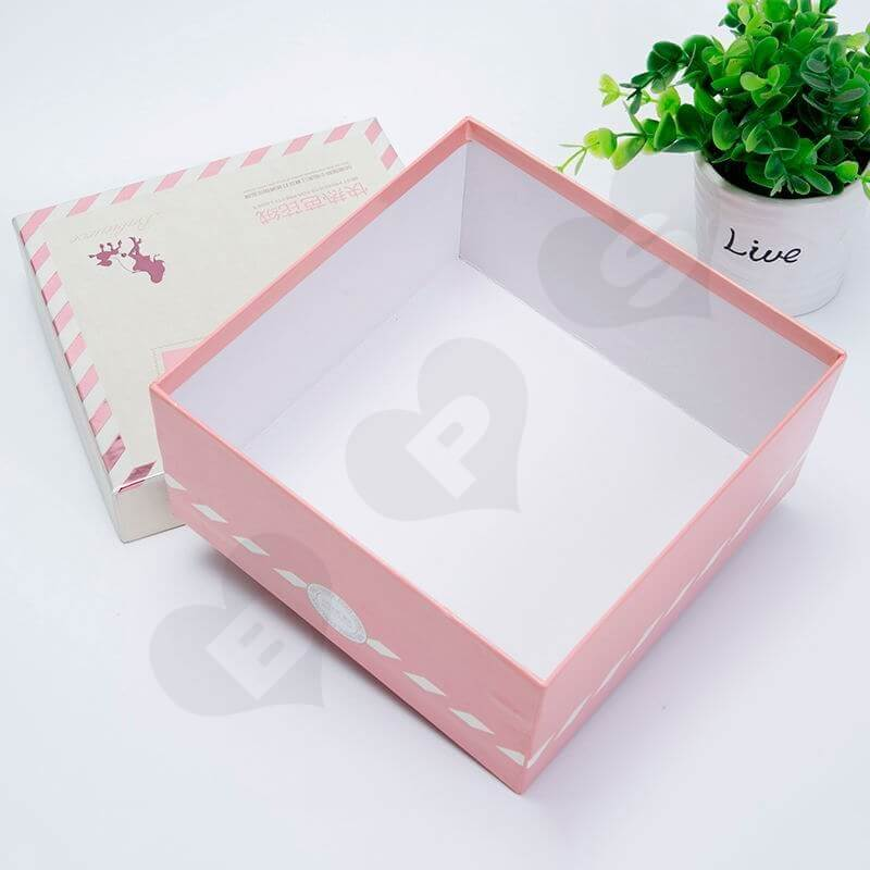 Custom Printed Rigid Box With Exposed Base For Underwear side view four